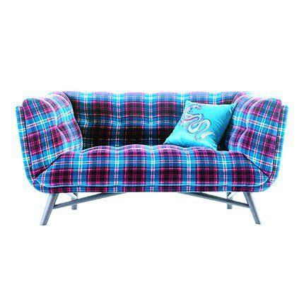 canapé jean roche bobois canapé profil avec tissu kilt de jean paul