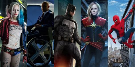 How Many Superhero Movies Are There In 2019?