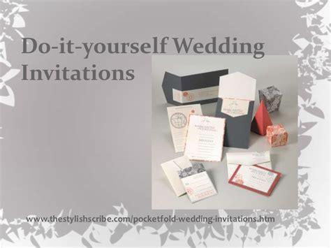do it yourself wedding invitations free do it yourself wedding invitations