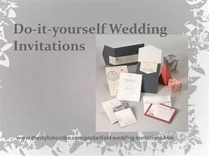 free wedding invitation ideas do it yourself yaseen for With do it yourself wedding invitations ideas free