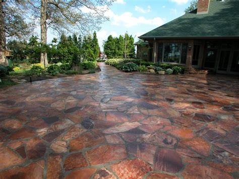 flagstone patio pictures flagstone valparaiso in photo gallery landscaping network