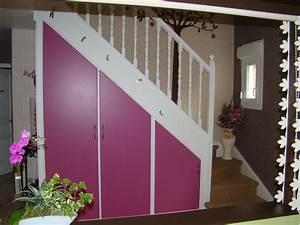 porte placard sous escalier dootdadoocom idees de With porte de placard sous escalier