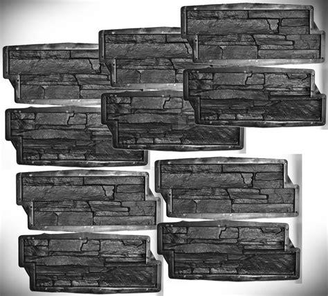 gips gießformen selber machen 10 formen gie 223 formen f 252 r beton gips wand klinker 1 m2 schieferstruktur 310 betongie 223 en