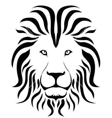 lion shilouette clipart lion silhouette vector biome