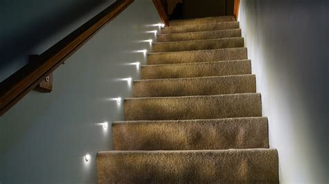 led stair lights youtube