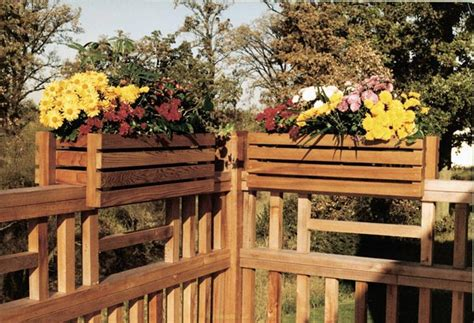 deck rail planters deck rail planter frames woodworking plan from wood magazine