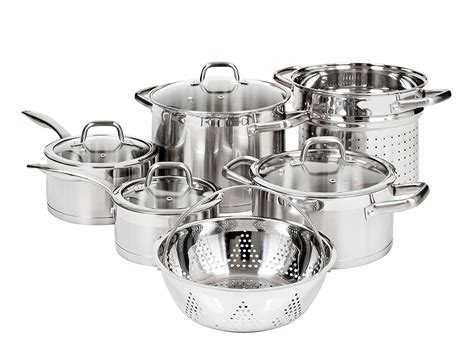 cookware nonstick induction sets topreviewpro steel cooking cast stainless element