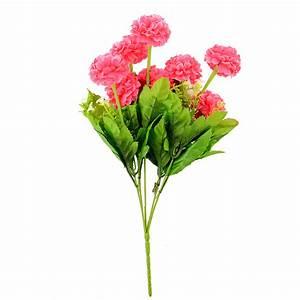 Artificial Chrysanthemum Silk Flower Floral Home Garden ...