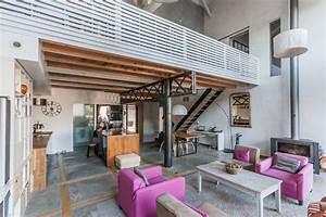 maison style industriel architecte emilie dueso With extension maison en l 19 cuisine style industriel