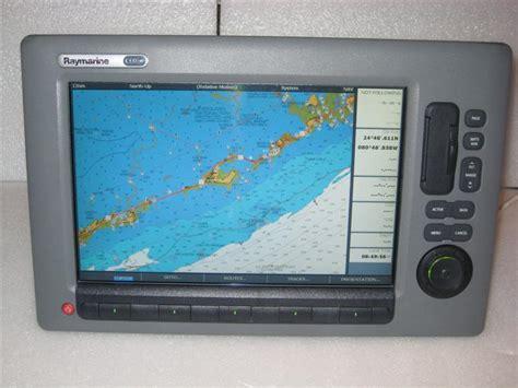 raymarine chartplotter coastal charts fs sold