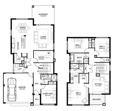 5 bedroom house plans 2 5 bedroom 3 bath floor plans 2 4 bedroom 3 bath