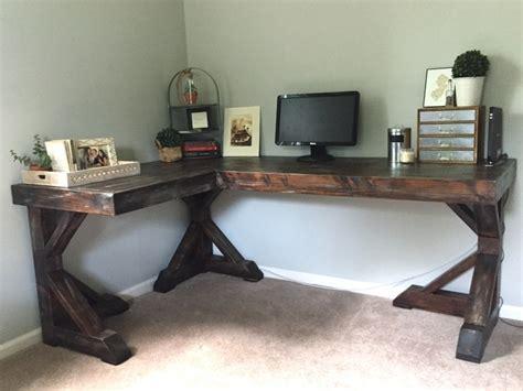 faire un bureau d angle soi meme meuble bureau à domicile à faire soi même idées et é