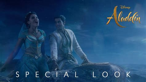 Disney's Aladdin A Whole New World Special Look YouTube