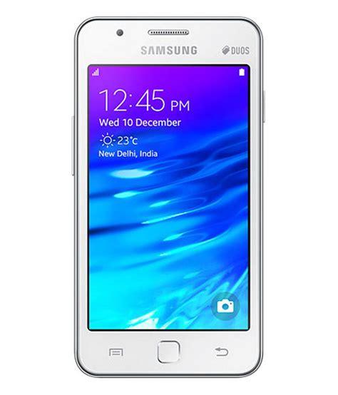 samsung z1 tizen 4gb white price in india buy samsung z1 tizen 4gb white on snapdeal