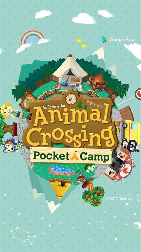 wallpaper animal crossing pocket camp