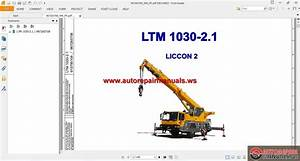 Free Auto Repair Manual   Liebherr Mobile Crane Ltm 1030