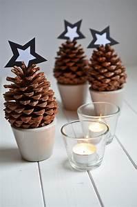 Tischdeko Weihnachten Selber Machen : last minute adventsdeko mit tannenzapfen rh eintopf ~ Watch28wear.com Haus und Dekorationen