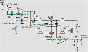 Bass Treble Tone Control Circuits