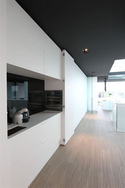 Kitchen Met Office by Office At Luxhome With A Hide Away Kitchen Area With A