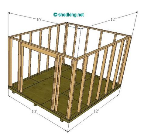 gambrel shed 10 wide