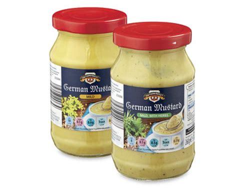 german mustard german mustard aldi great britain specials archive