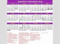 Calendario Argentina 2019 Dias Festivos newspicturesxyz