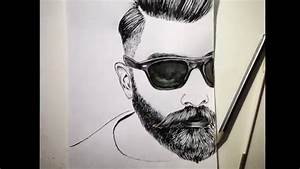 Bearded Man Drawing | www.imgkid.com - The Image Kid Has It!