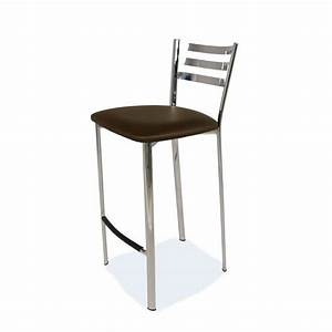 Tabouret 65 Cm : tabouret snack en m tal 1329 4 pieds tables chaises et tabourets ~ Teatrodelosmanantiales.com Idées de Décoration