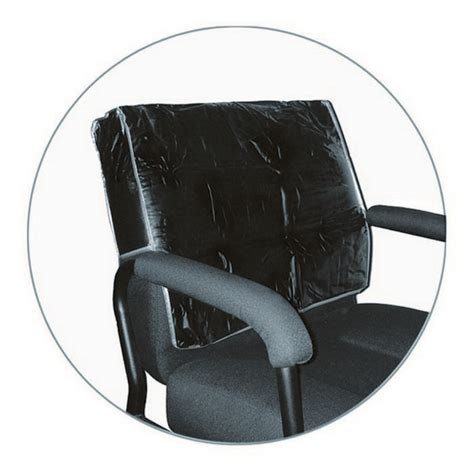 icarus black salon chair back cover square corner ebay