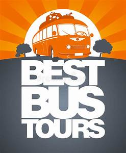 best bus tour design template royalty free stock With tour bus design template