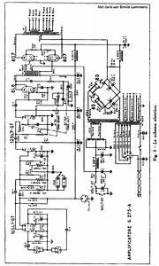 Geloso G275a 2x807 Audio Combo Amplifier Sch Service