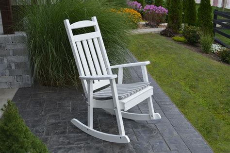 Porch Chairs On Sale by Classic Poly Porch Rocker From Dutchcrafters Amish Furniture