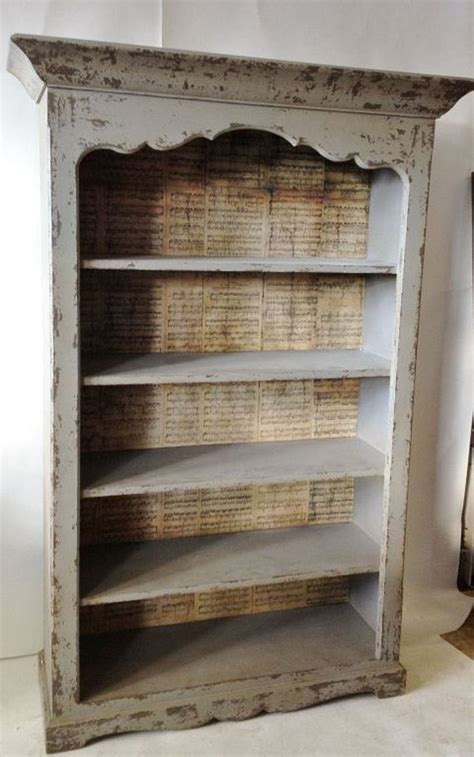 mozart distressed bookcase redo furniture bookshelf