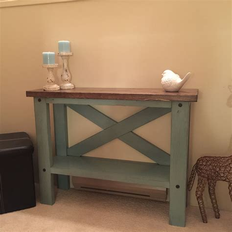 small white entry table mini console table do it yourself home projects from ana