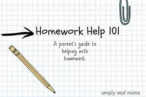 Homework Help 101  A Guide For Parents