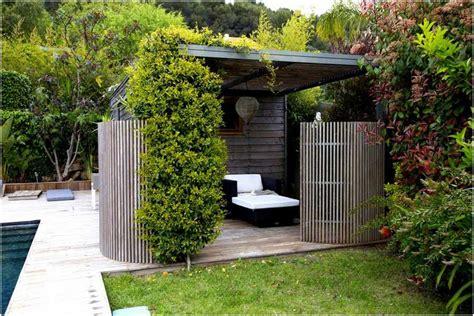 Bild Paravent Garten Metall Cortenstahl Rost Optik Baum