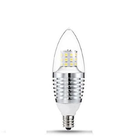 us 3pcs e12 7w dimmable led light bulbs candelabra base