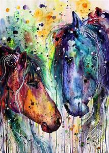 Horse Love Painting | www.pixshark.com - Images Galleries ...