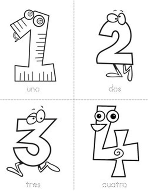 Number Beginning Readers Books - Twisty Noodle