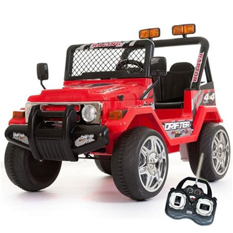 12v Red Two Seater Off Road Kids Electric Jeep £16999