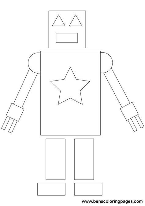 simple shapes maths printout  school shape activities