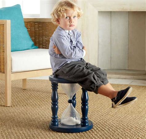 time  sand timer stool