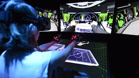 Secretary Of Defense Checks Latest Vr At Navy Research Lab