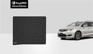 Toughpro, Floor, Mat, Accessories, Cargo, Mat, Compatible, With, 2020, Chrysler, Pacifica, 3rd, Row, Down, 8