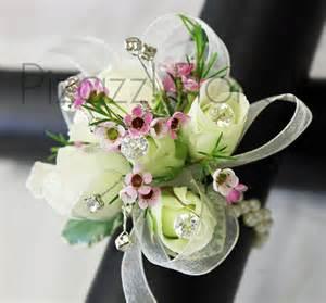 corsage bracelet prom corsages pizazz florals