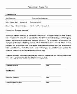 Sample Leave Application Form 10 Free Documents in PDF Doc
