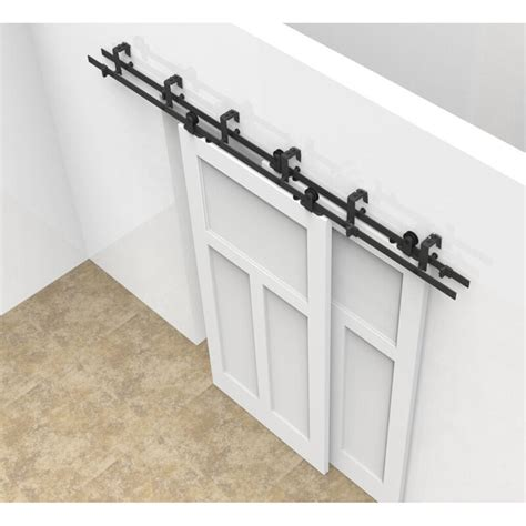 Sliding Closet Door Kit by Interior Bypass Sliding Barn Door Hardware Track Kit