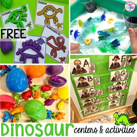 dinosaur themed activities amp centers for learners 997 | Slide1 2