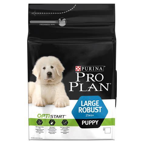 purina pro plan large puppy robust  optistart