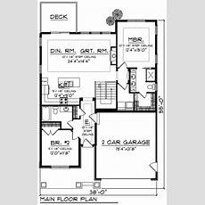 Leland Bay Craftsman Ranch Home Plan 051d0850  House